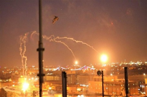 Seorang Bocah Tewas dalam Serangan Roket Dekat Kedubes AS