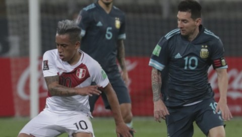 Peru vs Argentina: Albiceleste Curi Poin dari Tuan Rumah