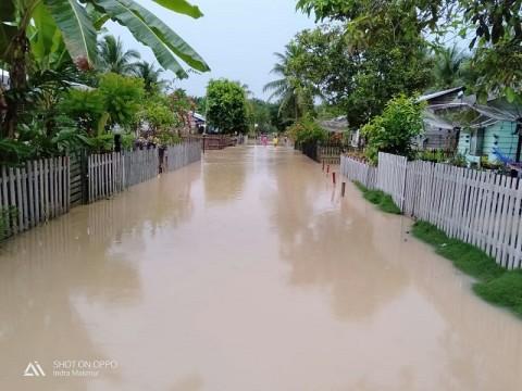 3 Desa di Aceh Timur Banjir