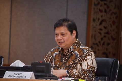 Airlangga: UU Cipta Kerja Bisa Berantas Pungli dan Korupsi Imbas Ruwetnya Birokrasi