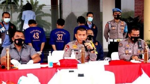 Polda Banten Jaring 47 Pelaku Curanmor