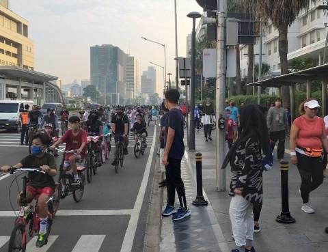 Dishub DKI Targetkan 200 Km Jalur Sepeda pada 2021
