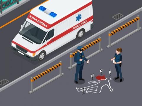 Diduga Mengantuk, Pengendara BMW Tabrak Pejalan Kaki Hingga Tewas