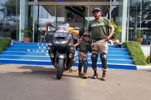 Setelah ke Mekkah Naik Motor, Kini Lilik Lanjut ke Timor Leste