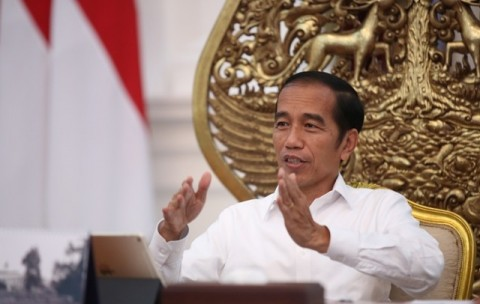 Jokowi Says Job Creation Law Aims to Improve Investment Climate