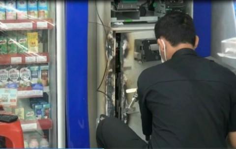 Terjebak di Minimarket, Pembobol ATM Ditangkap