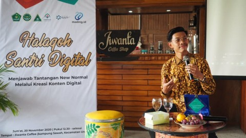 MataAir Dorong Santri Menguasai Basis Teknologi Digital