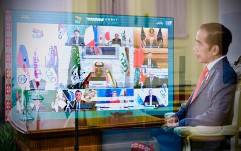 Di KTT G20, Jokowi  Dorong Akses Vaksin Covid-19 bagi Semua Negara