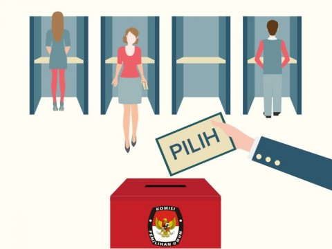 KPU Diminta Antisipasi Pemilih Tak Pakai Masker Saat Pencoblosan