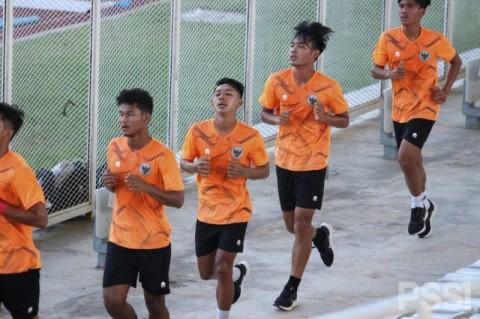 Dilatih dengan Intensitas Tinggi, Ketahanan Fisik Timnas U-19 Meningkat