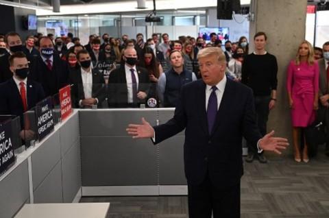 Jaksa AS Tolak Permintaan Kubu Trump di Pennsylvania