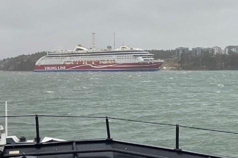 Kapal 'Viking' Terdampar di Pesisir Pulau Finlandia