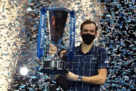 Menyudahi Perlawanan Thiem, Medvedev Juara ATP Finals