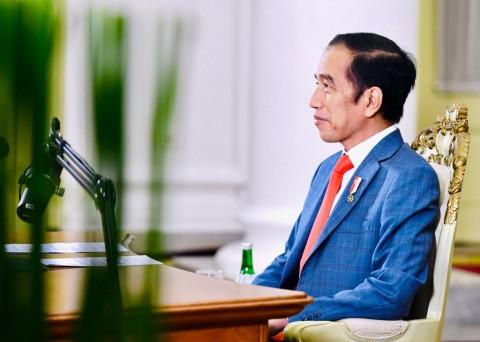 Presiden Jokowi Jelaskan UU Cipta Kerja di KTT G20