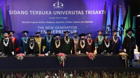 1.886 Mahasiswa Universitas Trisakti Ikuti Wisuda Daring