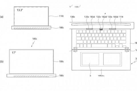 LG Patenkan Laptop 17 Inci dengan Layar Gulung