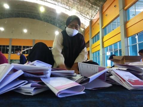 Penyortiran Surat Suara di Makassar Ditarget Selesai Lusa
