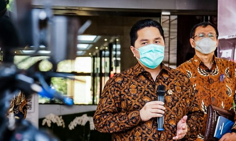 Erick Thohir Temui Wapres Bahas Kelanjutan Merger 3 Bank Syariah