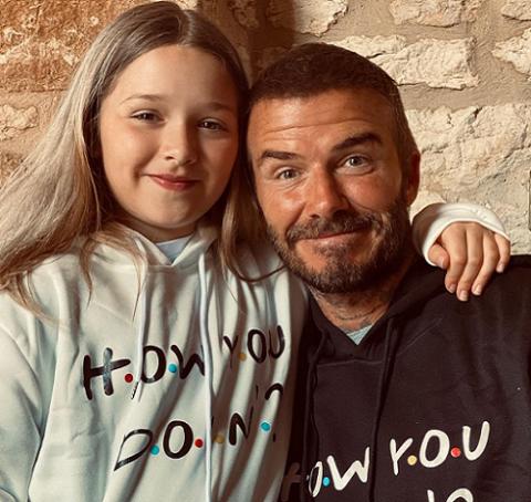 Intip Imutnya Gaya Fashion Harper Beckham yang Mencuri Perhatian