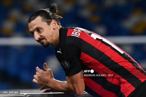 AC Milan Istirahatkan Ibrahimovic 10 Hari