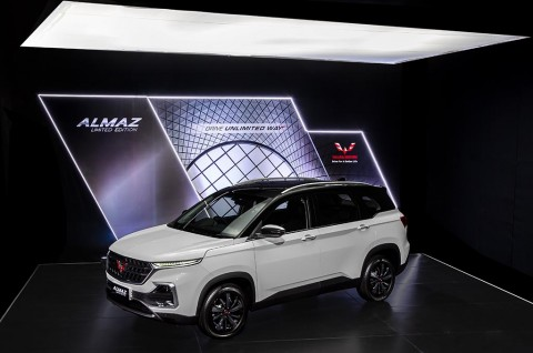 Wuling Almaz Limited Edition, Pembedanya Di Warna & Power Tailgate