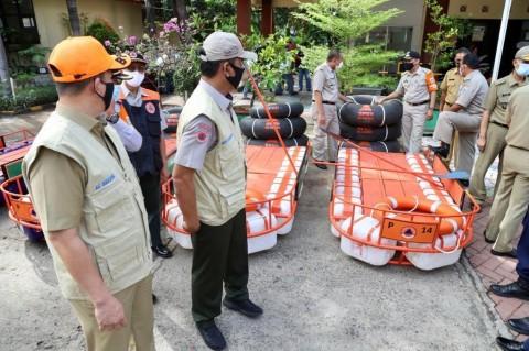 Jakut Dapat Tambahan Logistik Penanganan Banjir