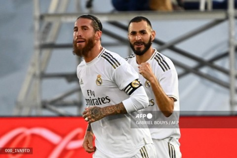 Madrid Berpotensi Hadapi Inter Tanpa Ramos dan Benzema