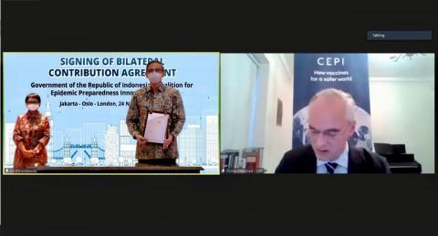 Kolaborasi RI-CEPI Perkuat Kapasitas Respons Penyakit Menular