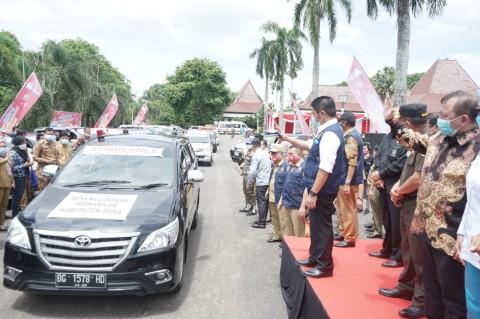 Herman Deru Hadirkan 1 Ambulans 1 Desa untuk 3.500 Desa se-Sumsel