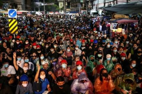 Terus Berlanjut, Bangkok Bersiap untuk Demo Besar Anti Pemerintah