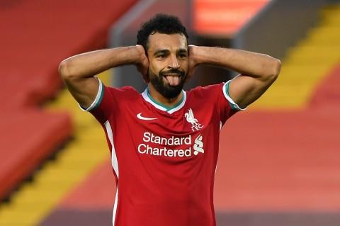 Salah Beri Kabar Baik untuk Liverpool Jelang Laga Kontra Atalanta