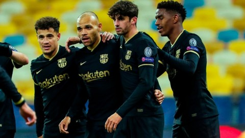 Dynamo Kiev vs Barcelona: Blaugrana Menang Telak