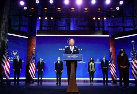 Joe Biden Umumkan Enam Anggota Kabinet Pilihannya