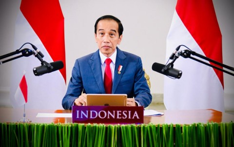 Jokowi Hadiri World Economic Forum Secara Virtual
