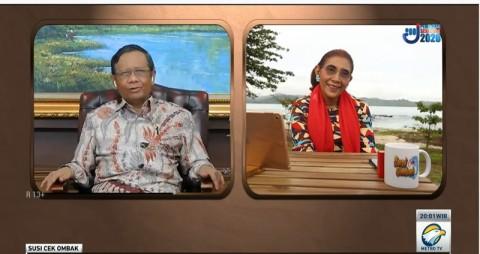 Mahfud MD: Metro TV Sumber Referensi yang Diperlukan