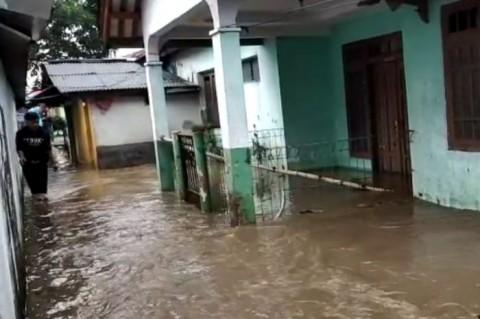 Ratusan Rumah di Tasikmalaya Terendam
