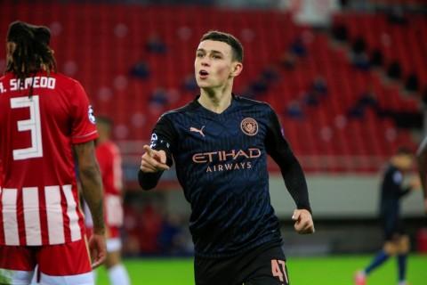 Olympiakos vs Manchester City: Gol Tunggal Foden Menangkan The Sky Blues