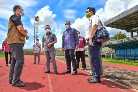 Menpora Minta Lintasan Lari Stadion Mataram Direnovasi