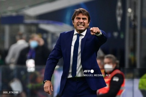 Conte Mengakui Inter Belum Selevel dengan Madrid