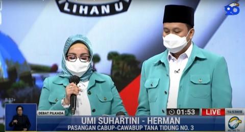Upaya Umi-Herman Jadikan Tana Tidung Sejahtera
