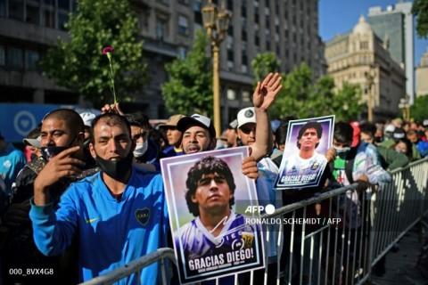 Dunia Tenis Beri Penghormatan Kepada Maradona