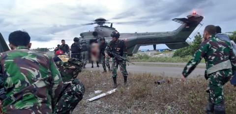 KKB Serang Patroli TNI di Nduga