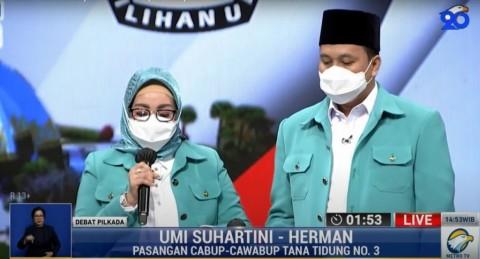Umi-Herman Bakal Beri Beasiswa Dokter Spesialis di Tana Tidung