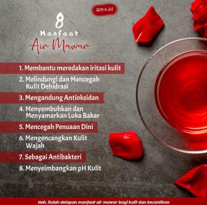 8 Manfaat Air Mawar untuk Kulit dan Kecantikan