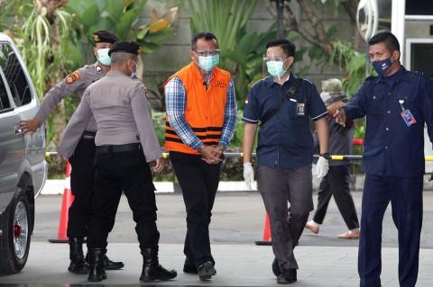 Surat Pengunduran Diri Edhy Prabowo Telah Dikirim ke Istana