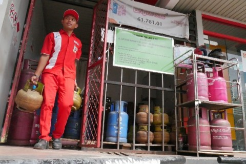 Pertamina Beri Pinjaman Modal Usaha bagi UMKM Penggunaan Elpiji Nonsubsidi
