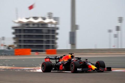 Max Verstappen Pimpin Free Practice III GP Bahrain
