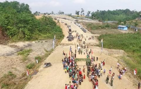 Wika Bangun Pos Lintas Batas di Kalimantan Barat