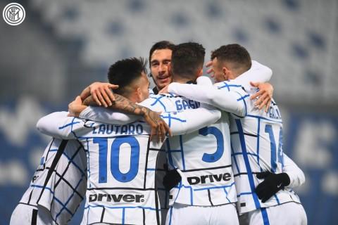 Sassuolo vs Inter Milan: La Beneamata Bungkam Tuan Rumah