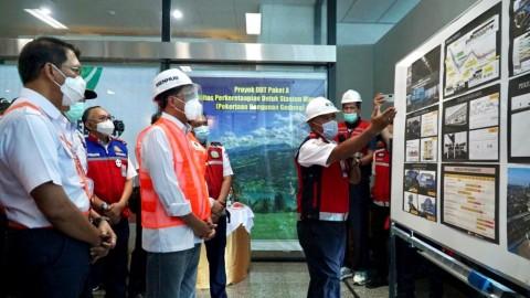 Menhub Minta Proyek Pembangunan LRT Jabodebek Lintas 2 Dipercepat